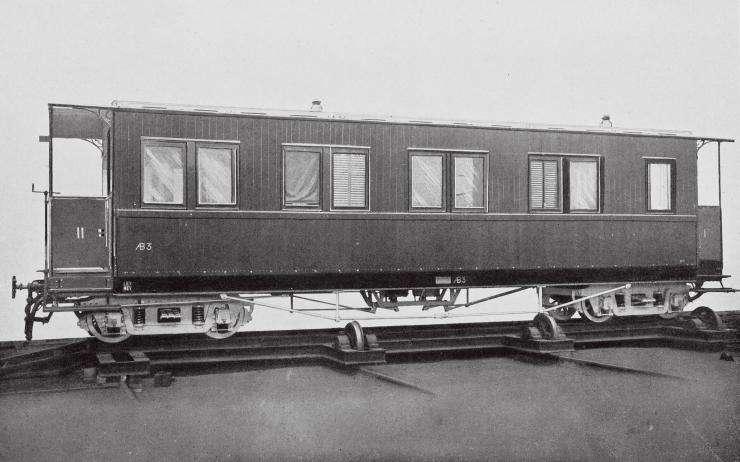 正太铁路最早的客运车厢